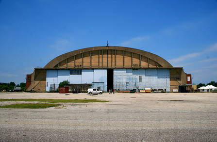 navy yard hanger