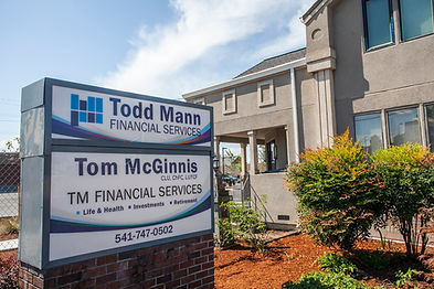 Todd Mann Financial Services is a local and independent financial service located in Springfield, OR but services clients nationwide. Financial Planning, wealth management, and insurance services.