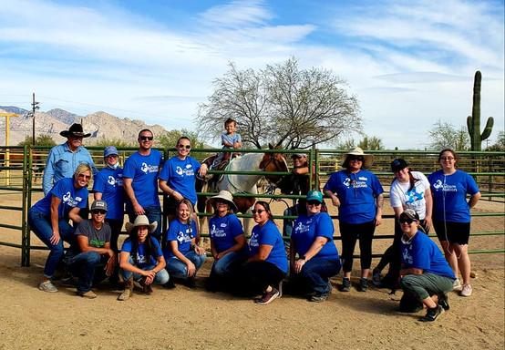 Our incredible team of amazing volunteers!