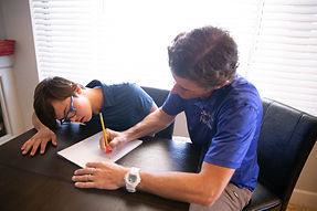 Arizona Autism Speech Therapist helping a client.