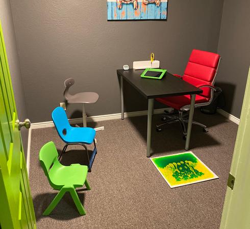 Sala de terapia del habla