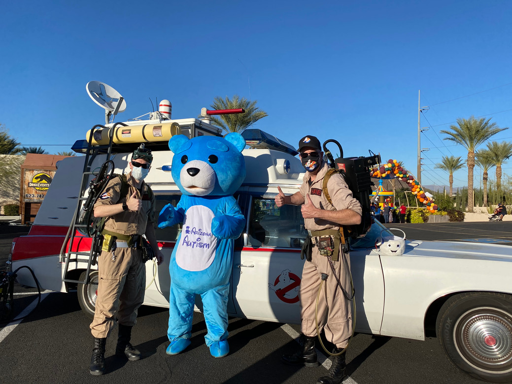 Bustin' ghosts with the Arizona Ghostbusters!