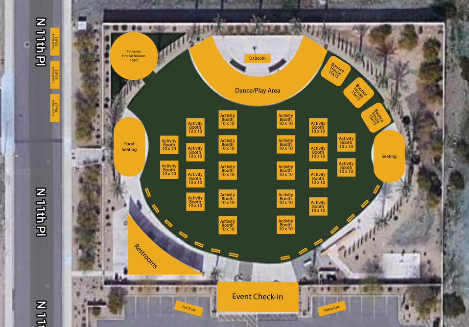 Map of the Venue