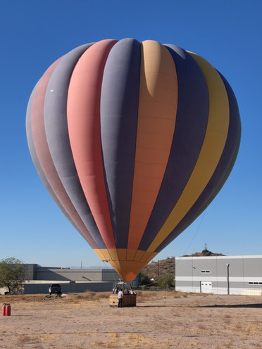 Hot Air Balloon, baby!