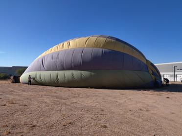 The balloon awakens...
