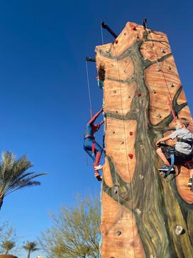 Rock Climb with Spiderman!