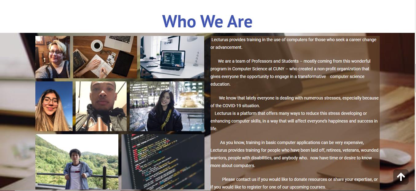 Tech/Educational Website