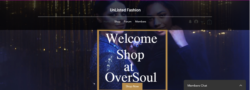Shopping/Retail Fashion Website