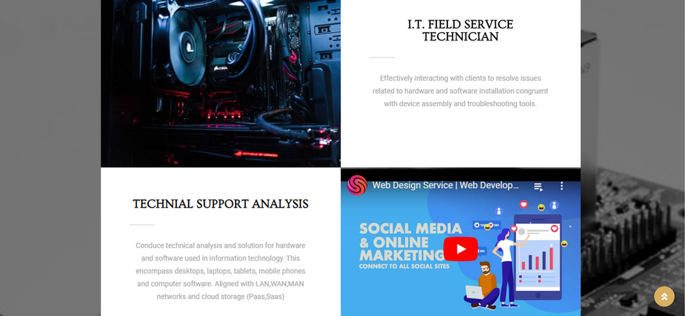 Technical/Educational Website