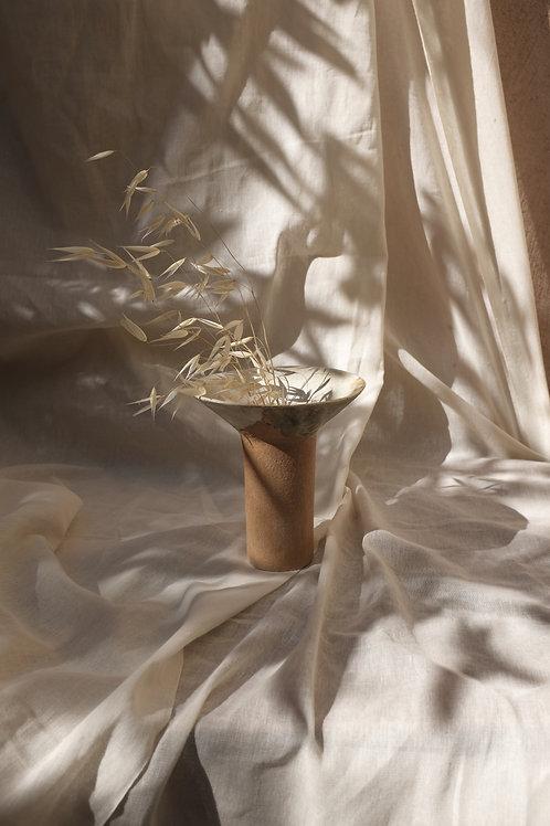 Le Vase - en grès roux, noir ou moucheté