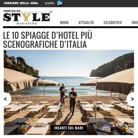 Le 10 spiagge d'hotel più scenografiche d'Italia