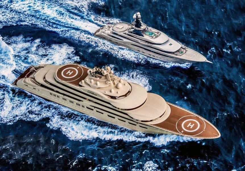 Achille d'Avanzo, Yacht Design, Interior design yacht