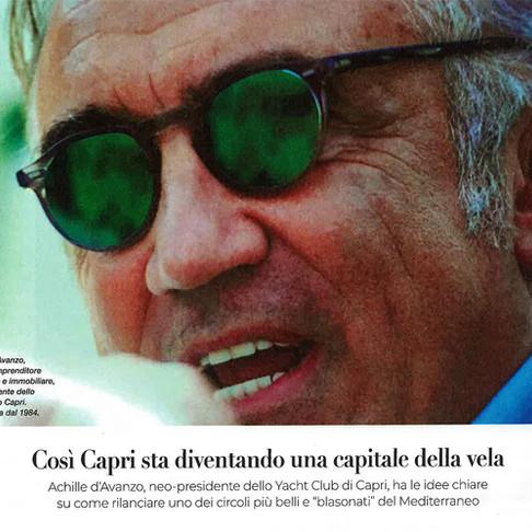 Così Capri sta diventando una capitale della Vela