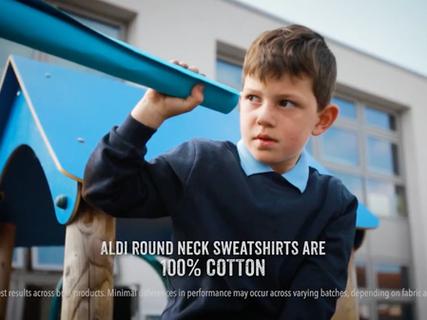 Aldi's Back to School Campaign video screenshot