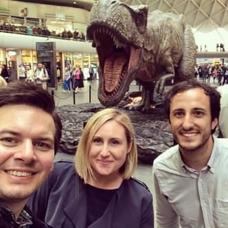 Obligatory T-Rex Selfie
