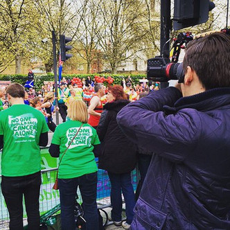 Filming a Macmillan Event