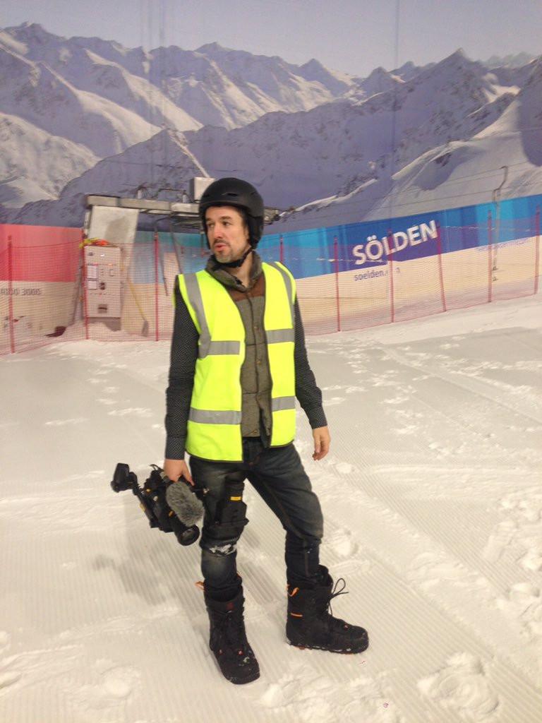 On the Aldi Ski Shoot
