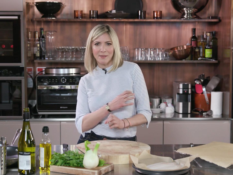 Lisa Faulkner Recipe and Cooking event VIdeo Screenshot
