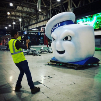 Filming Ghostbusters Experiential Campaign