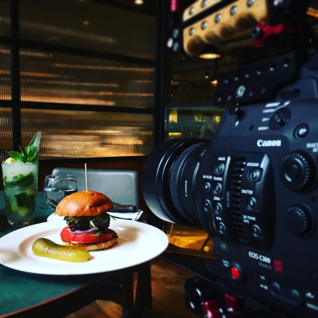 Filming Food!