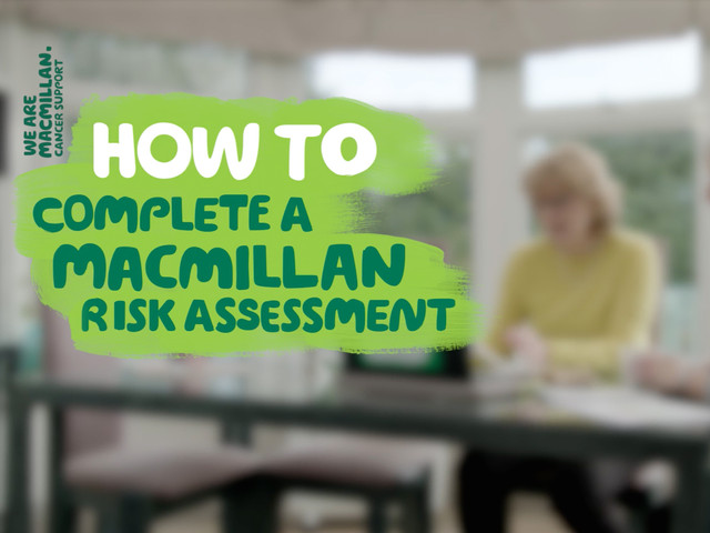 MACMILLAN - RISK ASSESSMENT