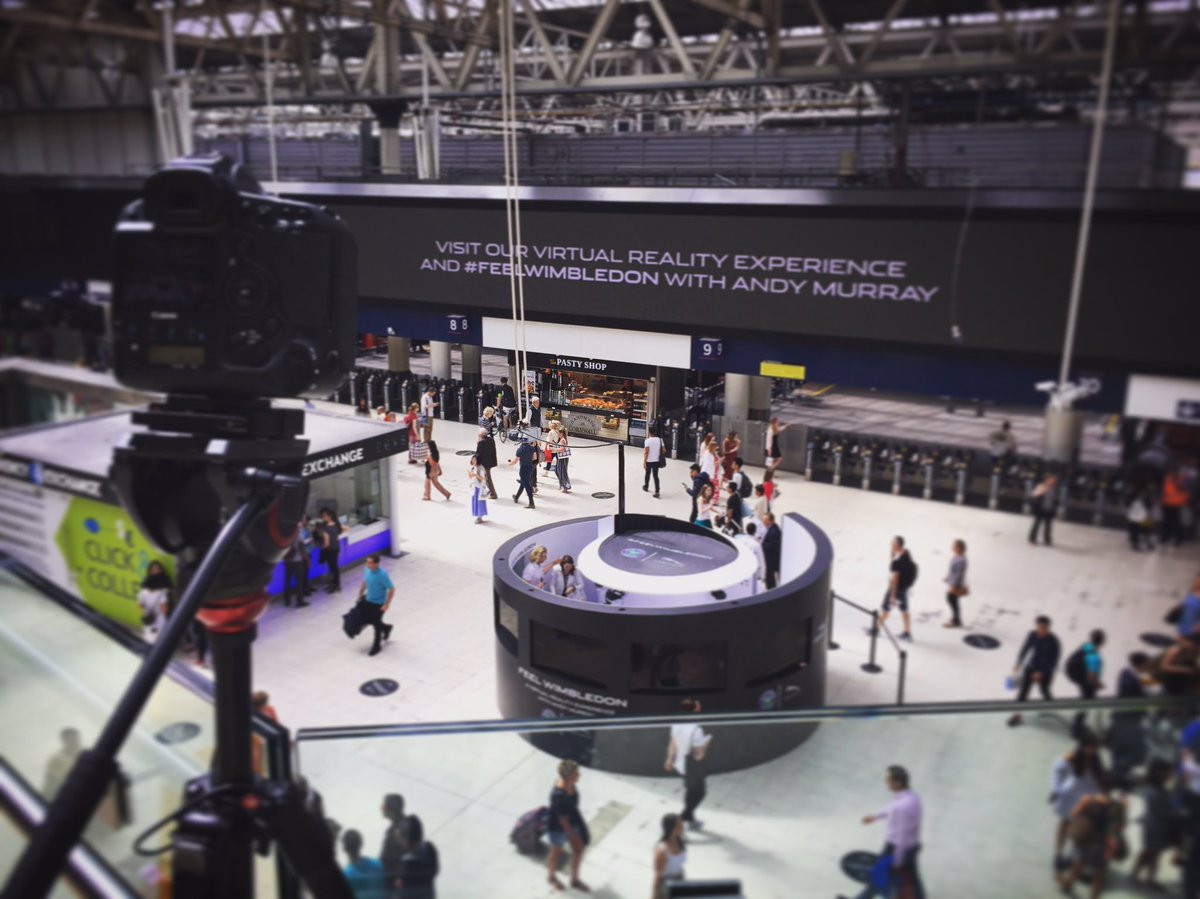 JCDecaux Wimbledon Experiential Time Lapse Screenshot