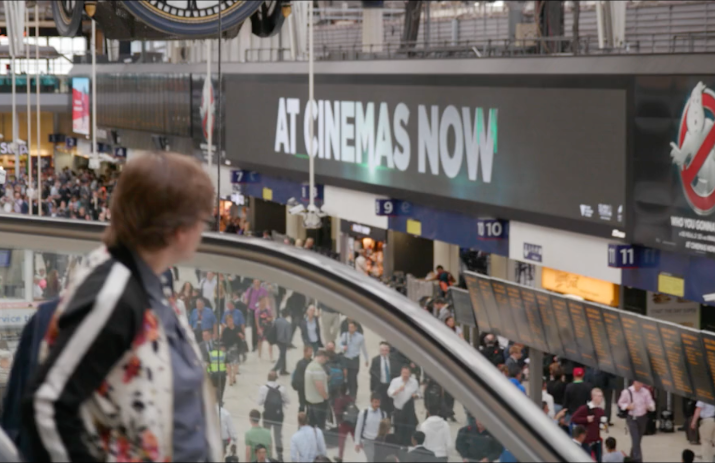 JCDecaux Ghostbusters Campaign Video Screenshot
