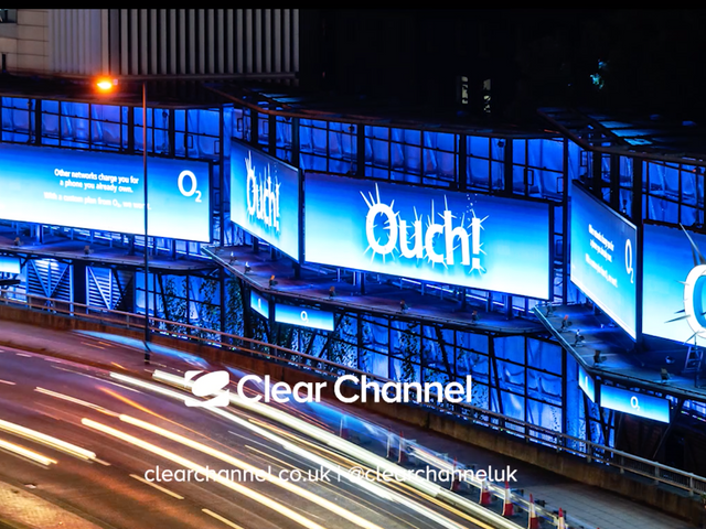 CLEAR CHANNEL - O2 Ouch