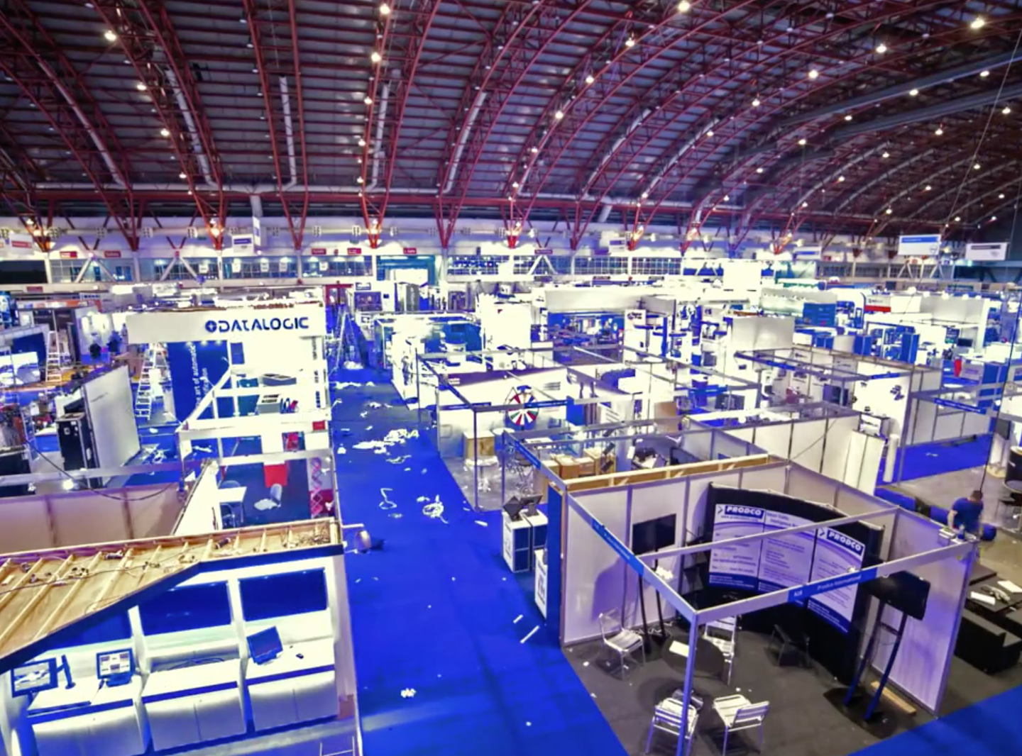 Retail Business Technology Expo Time lapse Screenshot