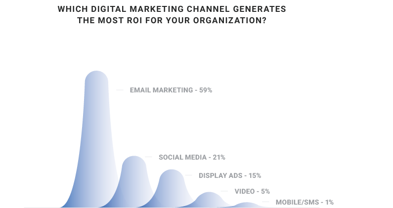 Which digital marketing channel generates the most return on investment for your organisation