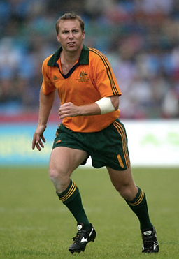Tim Atkinson playig Rugby 7s for Australia
