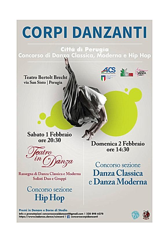 locandina Concorso e Rassegna di Perugia