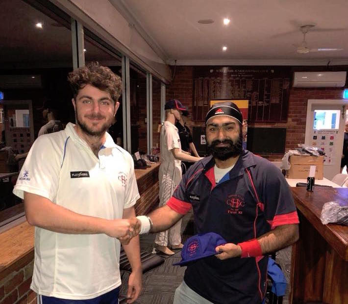 Well done to first year player VP Sethi (Monty) after being selected in the First XI.