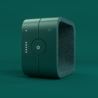 Dispositivo electrónico verde