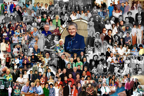 95th Birthday Photo Montage