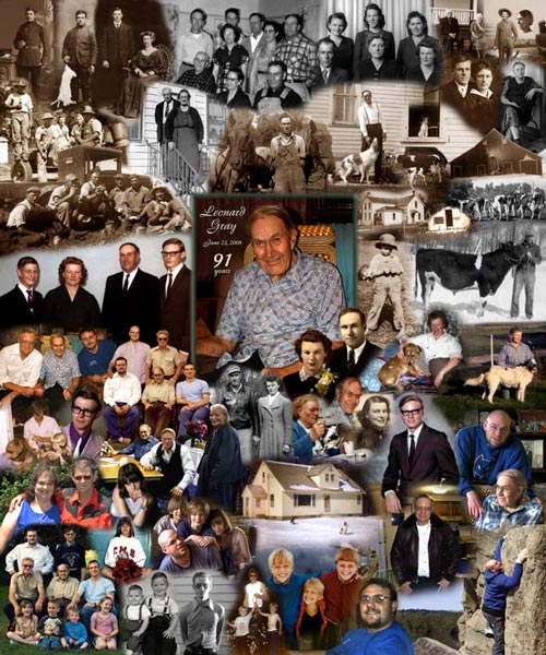 90th Birthday Photo Montage
