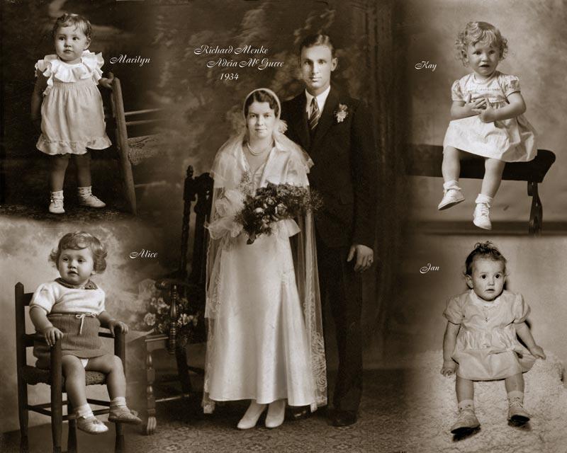 Family Heritage Photo Montage