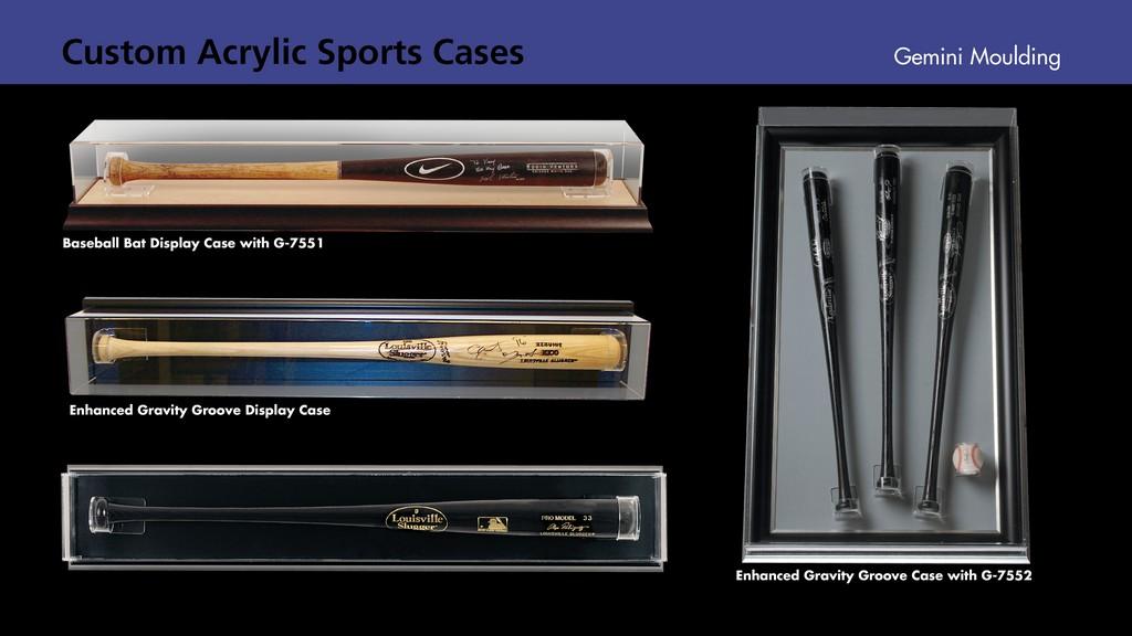 Custom Acrylic sports cases