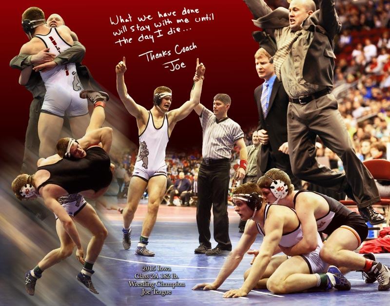Wrestling championship montage