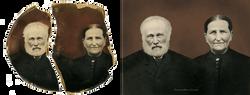 Photo restoratioin of torn photo
