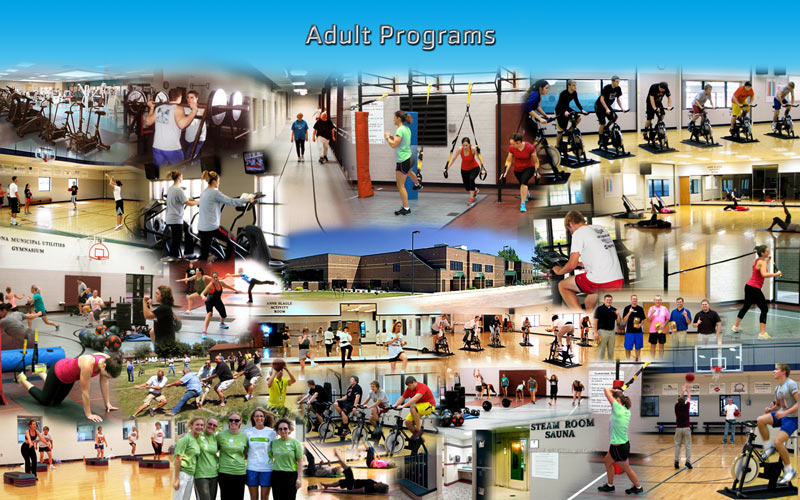 Adult programs photo montage