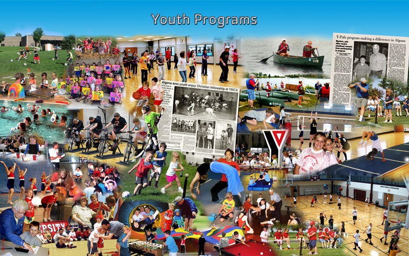 Youth programs photo montage