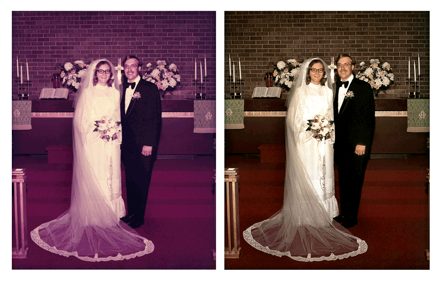Photo restoration and enhancement