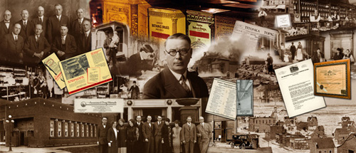 Business Mural, photo montage