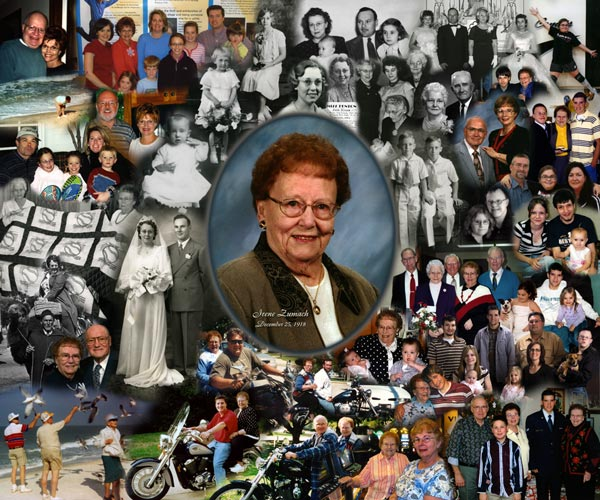 80th Birthday Photo Montage