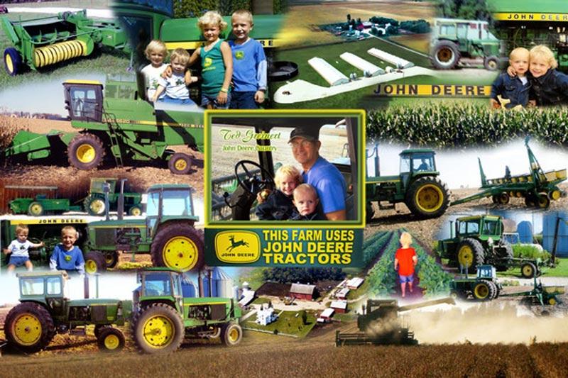John Deere family montage