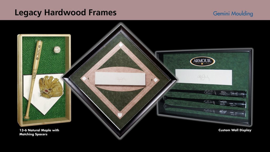 Hardwood wall cases
