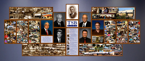 Titonka Bank 90th Anniversary Mural