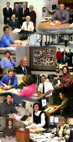 Current employees photo montage