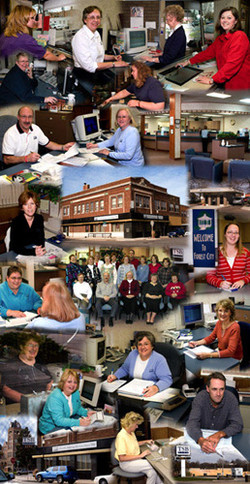 Forest City branch photo montage